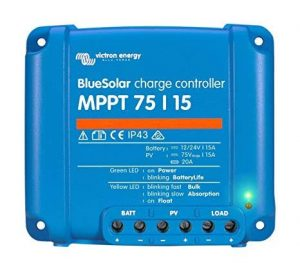 charge controller BlueSolar MPPT 75/10, 75/15 & 100/15 12/24 Volt + load output
